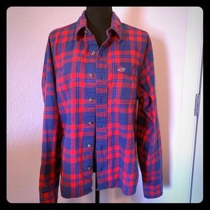 Hollister flannel L